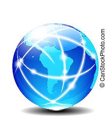 łacina, globalny, ameryka, południe