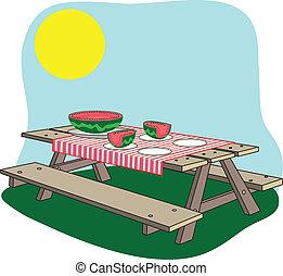 ława pikniku