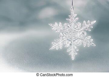 łuska, święto, śnieg, tło