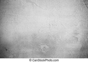 ściana, konkretny, grunge, cement