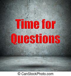 ściana, konkretny, pytania, czas