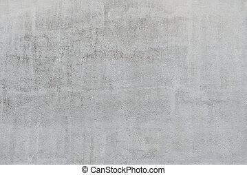 ściana, szary, struktura, stiuk, tło