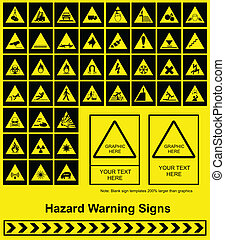 ślepy traf znak, ostrzeżenie
