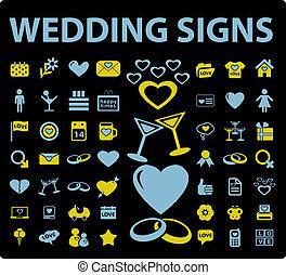 ślub, znaki