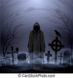 śmierć, cmentarz, anioł