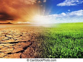 środowisko, wymiana
