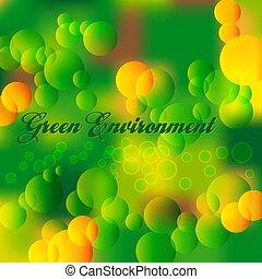 środowisko, zielony