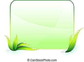 środowiskowa ochrona, zielone tło