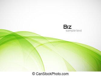 środowiskowy, abstrakcyjny, zielone tło
