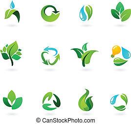 środowiskowy, ikony