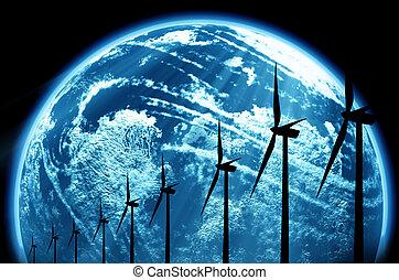świat, energia