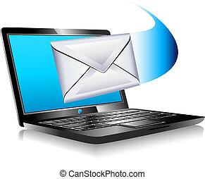 świat, laptop, sms, opancerzanie, email