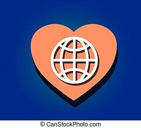 świat, miłość