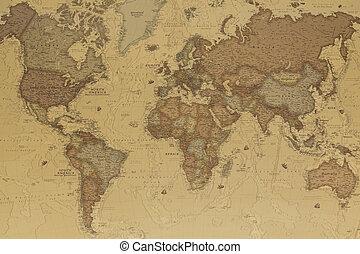 świat, starożytny, mapa