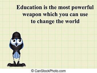 świat, wykształcenie, zmiana