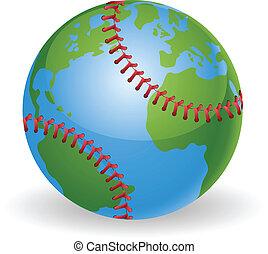światowa kula, pojęcie, baseballowa piłka