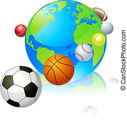światowa kula, pojęcie, lekkoatletyka