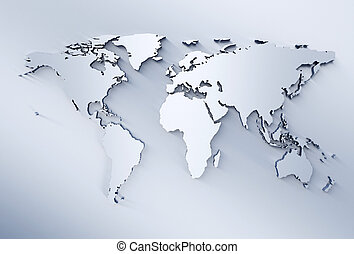 światowa mapa