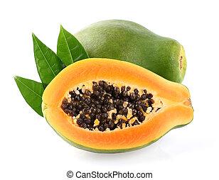 świeży, papaya