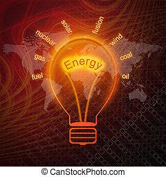 źródła, energia, bulwy