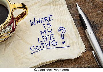 życie, mój, gdzie, chodzenie