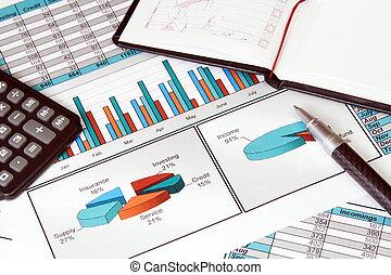 życie, wciąż, stats, finanse, handlowy