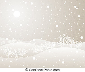 żywopłoty, zima