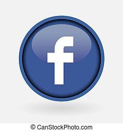 -, zbiór, ludowy, logo, drukowany, facebook., marzec, biały, paper:, 2, indyk, 2019:, istambuł, media, towarzyski