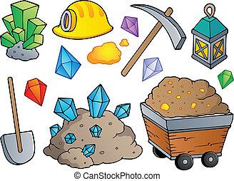 1, górnictwo, temat, zbiór