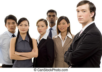 1, grupa, lider, handlowy