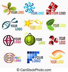 1, logo, elementy