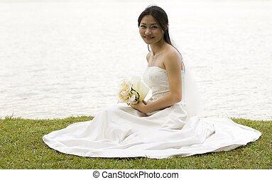 1, panna młoda, asian