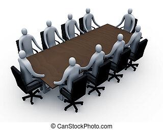 #2, spotkanie pokój