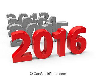 2016, przyjść