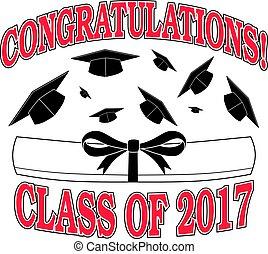 2017, gratulacje, klasa