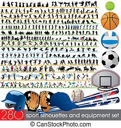 280, sylwetka, sport, wyposażenie