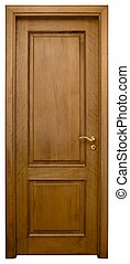3, drewno, drzwi