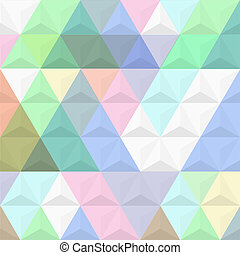 3d, barwne tło, piramidy