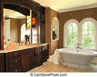 5, łazienka, -, luksus, 3
