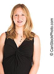 #502, kobieta handlowa