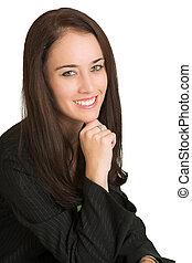 #531, kobieta handlowa