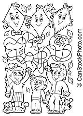9, zdezorientować, koloryt książka, dzieci