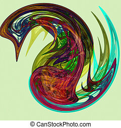 abstrakcyjna forma