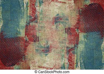 abstrakcyjna sztuka, projektowany, tło
