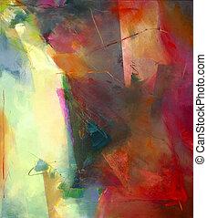 abstrakcyjna sztuka