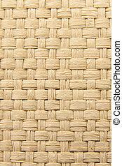 abstrakcyjny, żółty, strzecha, tło, textured, tkany