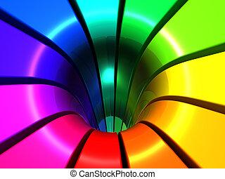 abstrakcyjny, barwny, tło, projektować