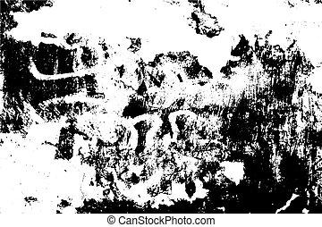 abstrakcyjny, grunge, surface., texture., tło, ziarnisty, wektor