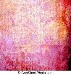 abstrakcyjny, grunge, tło, textured