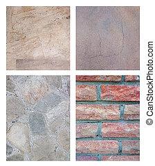 abstrakcyjny, komplet, kamień, tło